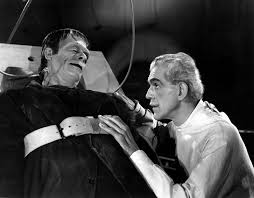 DR FRANKENSTEIN AND HIS MONSTER